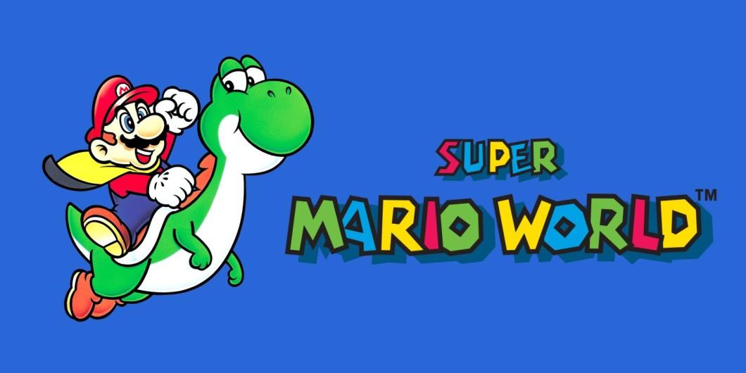 Super Mario World - En-tete
