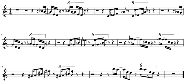 RoR - Variations du motif de la pluie
